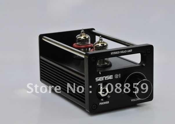 Free shipping-New SENSE G1 USB DAC Function Tube headphone amplifier 2P2+VMOS classic match