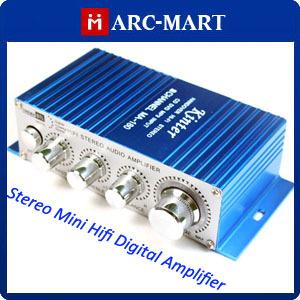 Wholesale 2 Channel Kinter MA-180 Stereo Power Amplifier Mini AMP 25pcs/lot #AM059