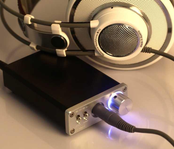 Free shipping-SMSL sApII TPA6120A2 high Power HiFi Stereo Headphone Amplifier Silver +Adapter!