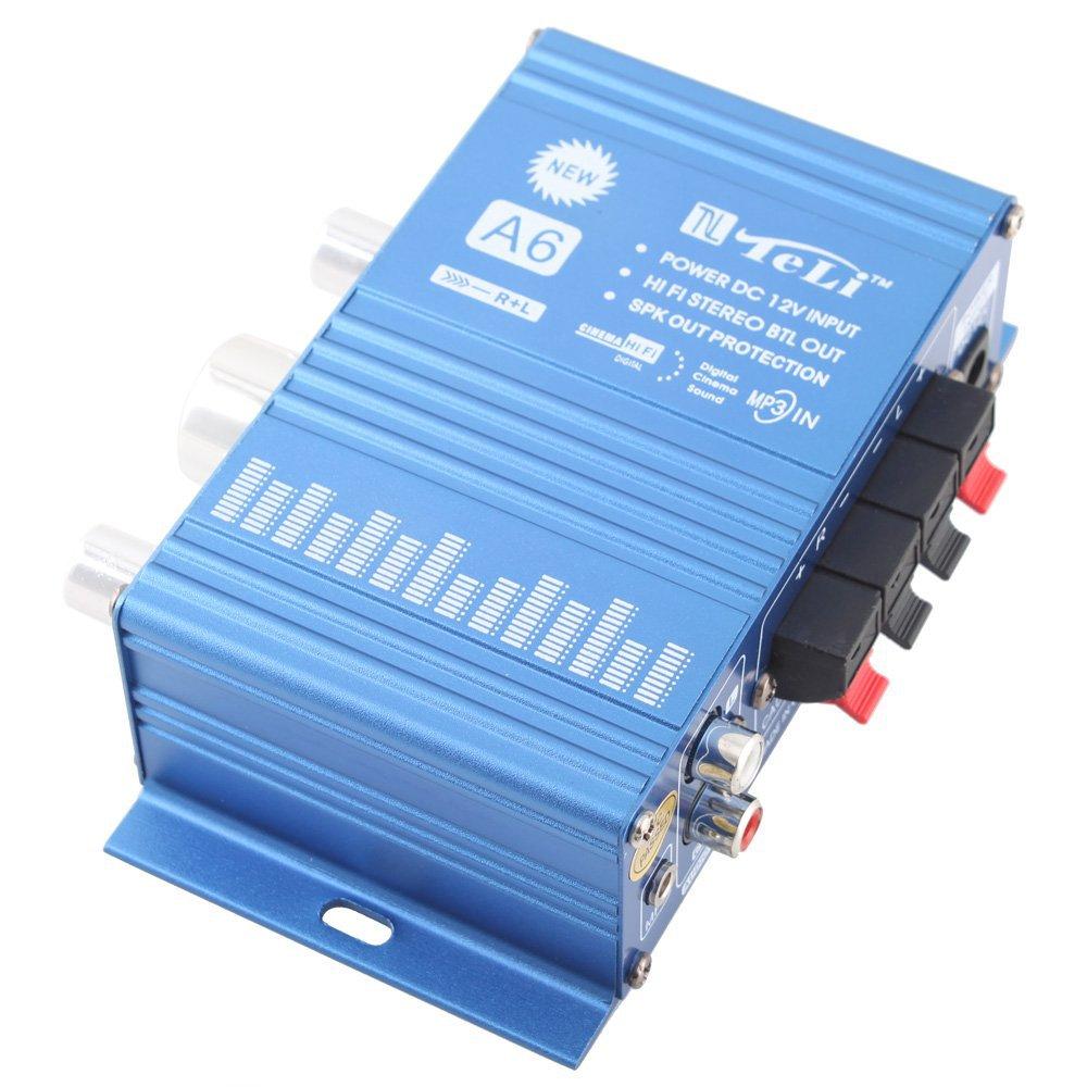 New TL-A6 12V Hi-Fi Car/Computer Audio Stereo Amplifier