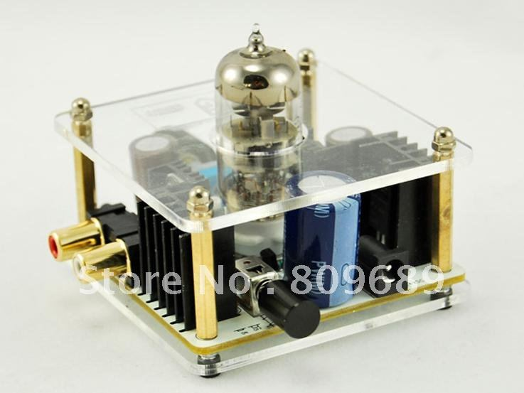 MUSE Class-A 6N11 Tube Headphone Amplifier & Pre-AMP With Power Adapter