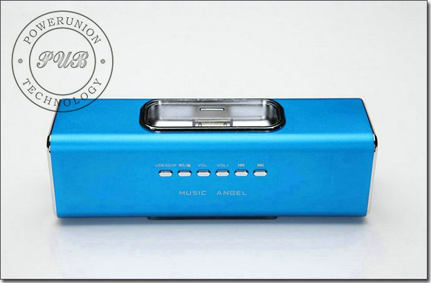 Music Angel Micro SD TF Digital Speaker Mini Stereo Audio Box For IPhone IPod MP3 MP4 JH-MAUK3 Christmas Gift 35pcs/lot