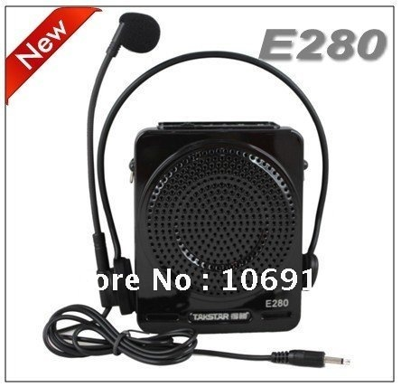 Free Shipping Brand New TAKSTAR E280 FM Radio Portable Amplifier & Speaker Music Player TF Card & USB Flash Disk hot-swap