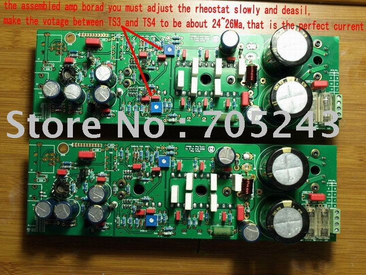 HiEnd MBL8006 power amplifier clone kit , KO 3000USD grade AMP no problem