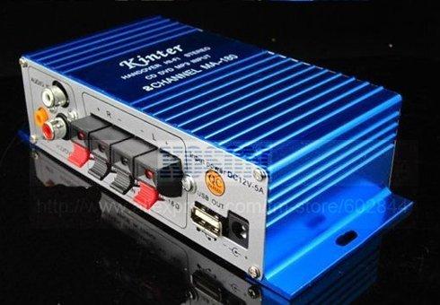 Freeshipping 5PCS/LOT NEW Super-Small MINI USB Power Amplifier MA-180 HI-FI Stereo Car Amplifier