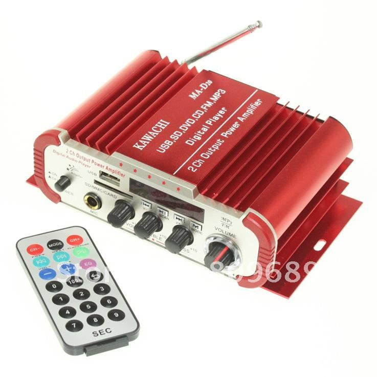 Amplifier With Dvd And Usb Usb sd Dvd cd fm Mp3 Mic