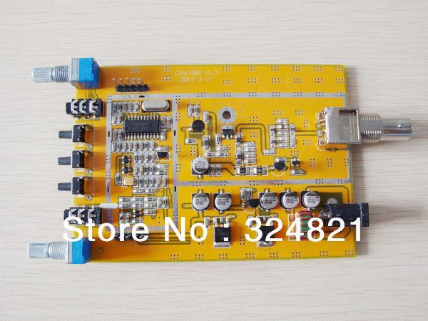 Free shipping 0.1W/0.5W CZH-05B PCB Silver color 76~108MHz adjustable