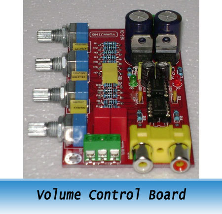 Stereo Preamplifier Volume Control Board NE5532 Kit New