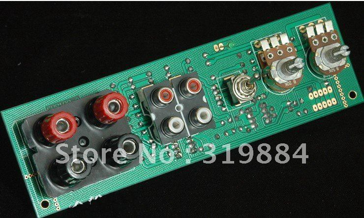 Free shipping  Subwoofer low pass filter front plate + high input TL-1