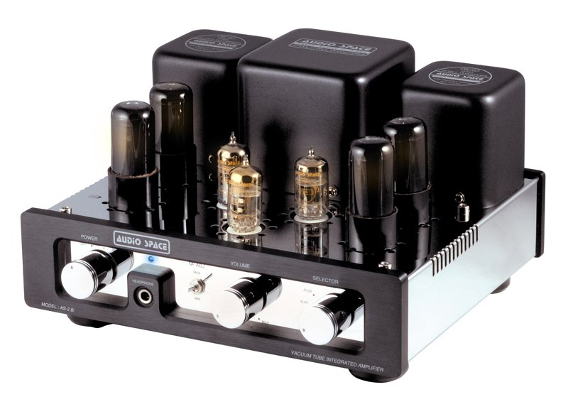 Audio Space AS-2.8i Vacuum Tube Integrated Amplifier Brand New