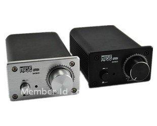 MUSE M50 2x50w Tripath Class EX TPA3123 T-Amp Stereo Hifi Amplifier Silver/Black