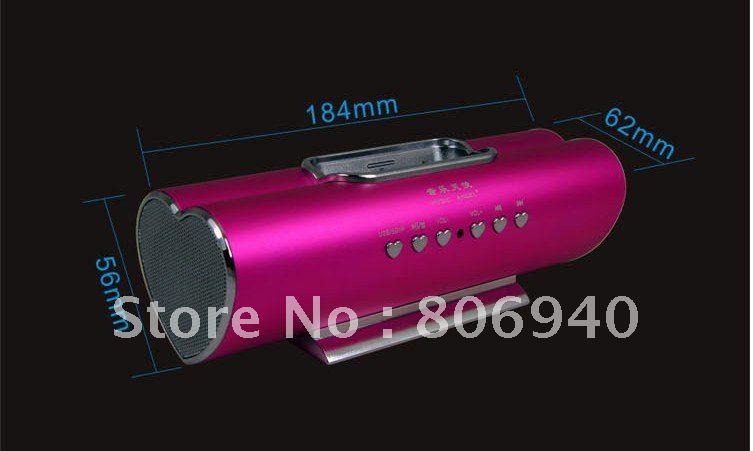 Digital mini speaker,multi-media speaker,for Ipod/Micro Sd/Usb/MP3/4/iphone 5pcs