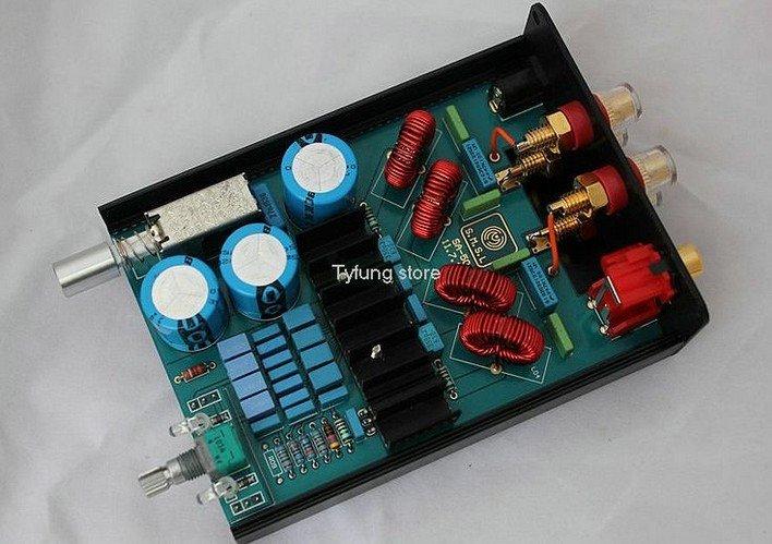 SMSL SA-50 Digital Amplifier TDA7492 2*50W with Power Adapter BTL T-AMP HI-FI Professional Boutique Computer Amplifier