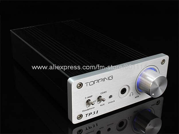 F97# TP31 Built-in Coaxial Decoder Independent Amp TA2024 HIFI Digital Amplifier