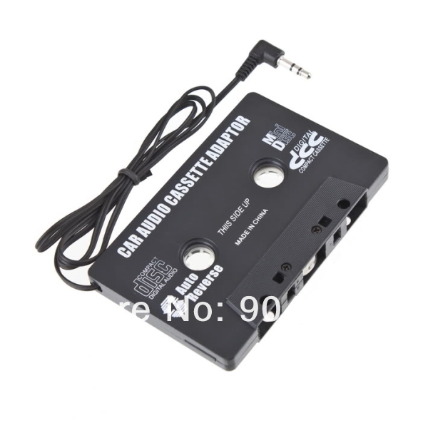 Compact and portable Car  Cassette tape adapter for MP3  Player CD free shipping