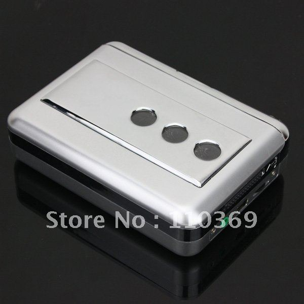 Tape to PC Super USB Cassette-to-MP3 Converter Capture Audio Music Player NEW 1pcs Free Shipping