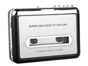 Wholesale 5pcs/lot Portable USB Tape Cassette To MP3 Converter Capture Adapter Digital Audio Music Player