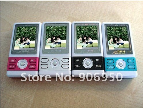 1.8 inch TFT screen MP3 Player MP4 Player with speaker out FM REC DY 420  + 4 Colors