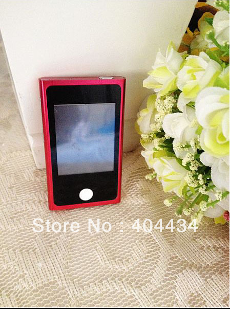 New arrival !  7th mp3 /mp4 player  8GB memory  7gen 2.0''  touch screen 20pc /lot (only mp3 player )free shipping