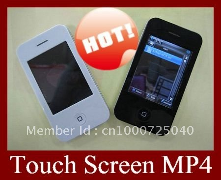 Wholesale , 10pcs 2.8 inch touch Screen MP4 32GB 320*240 Resolution , 2 million piexl ,1800 MAH battery , DHL EMS Free Shipping