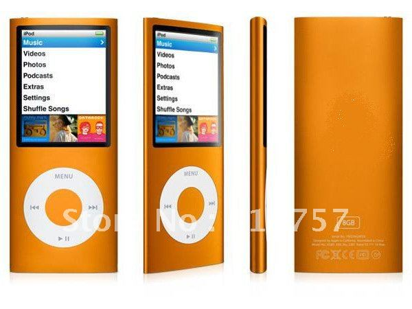 "FULL SET 1.8"" 4th Gen mp4 player, built-in 16GB mermory and E-book reading, 15pcs free shipping"