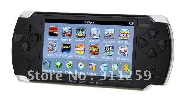 buy 3 pieces of touch screen game consolo player mp5 sp style free shipping