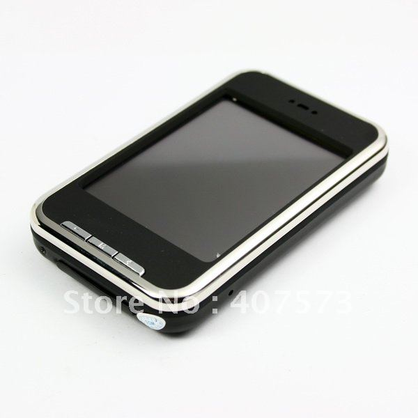 4GB LCD Touch Screen Camera MP4 Player with Radio Black