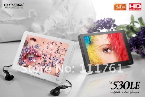 "ONDA VX530LE 4G 4.3"" 720P HD MP4 Player Free Shipping"