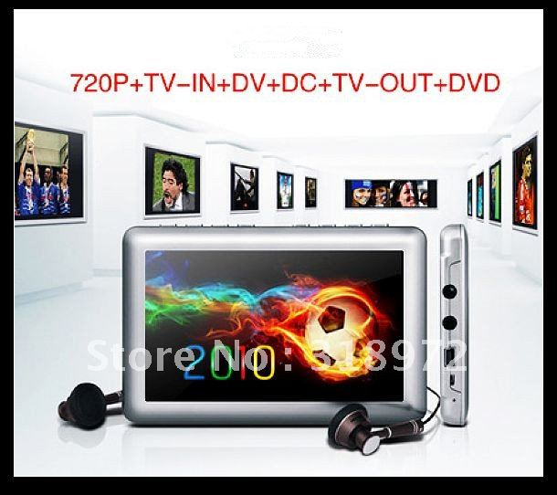 3pcs 8GB JXD 990 720P+TV-IN+DV+DC+TV-OUT+FM MP4/MP5 Player  Portable HD video Free shipping so cool
