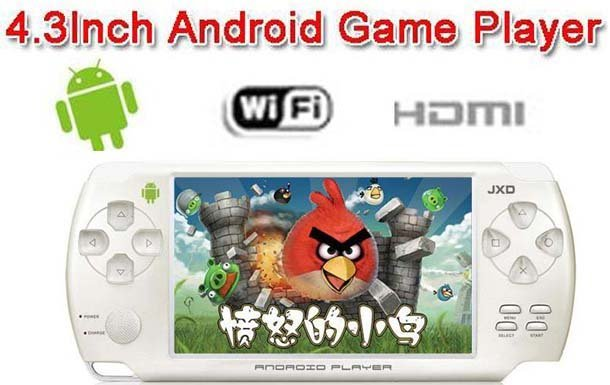 100% New Arrivel S601 Android 2.3 OS Game 4.3 inch 4GB Game Player Gaming Tablet PC Free shipping