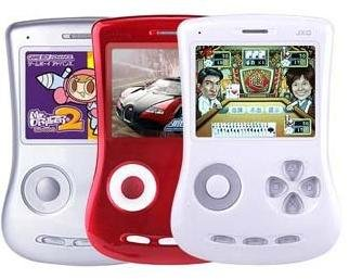 "CN Shipping JXD100 2.7"" Handheld Game Player Memory 4GB Game FM Digital Cameras MP4 MP5 300 Game Around you White Black Blue"