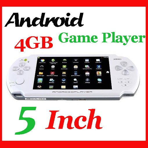 3pcs/lot!! HOT 5 Inch 1GHz 4GB Game Player Wifi Camera 2-Point Resistive Touch Screen JXD V5200 Android Game Console