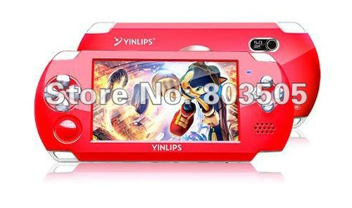Free shipping 4.3inch Handheld MP5  Multi-media Game Player TV-Out  4GB wholesale/Retails
