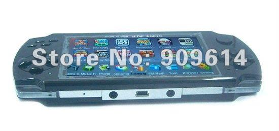 4GB 4.3 inch screen MP3 MP4 MP5 Game Player video + Camera + FM portable 2pcs lot