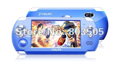 "Handheld 4.3"" Multi-media MP5 Game console 4GB with Camera ,TV-Out , 8/16/32 bit Games+ Ebook+FM Radio 4GB wholesale/Retails"