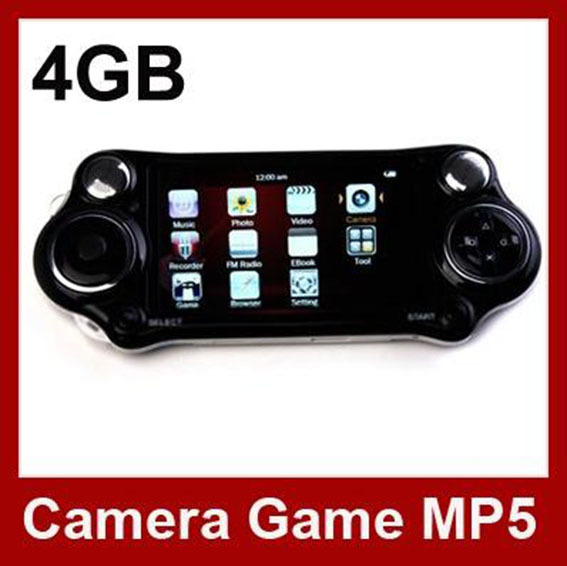 Free Shipping 10pcs 4.3 Inch PMP Handheld Game Player With 4GB MP3 MP5 Video Camera TV OUT Multi-Function Game Console Player