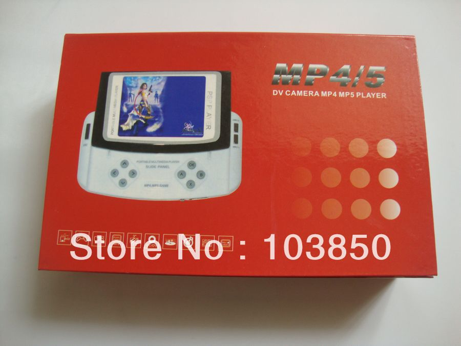 "Wholesale -  2.8"" Game Portable Multimedia MP4 camera Slider Player 4GB built in Memory Support max 2GB SD card"