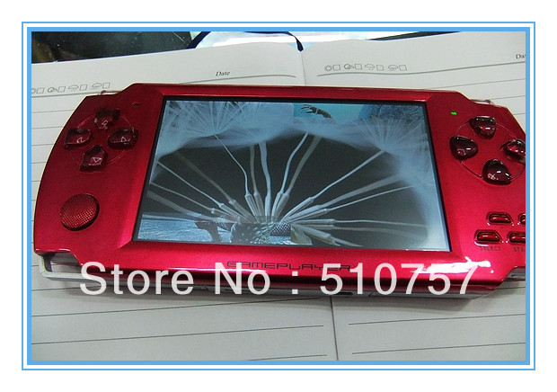 "free shipping,include all accessaries, 8GB 4.3"" capacitive touch screen game player, mp4 player, 100pcs/lot"