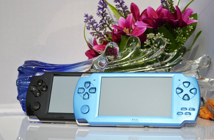 For 8Gb 3D Games Console PMP With 4.3 inch Touch Screen 720PHD PmP 2000 games MP4 MP5 Camera TV
