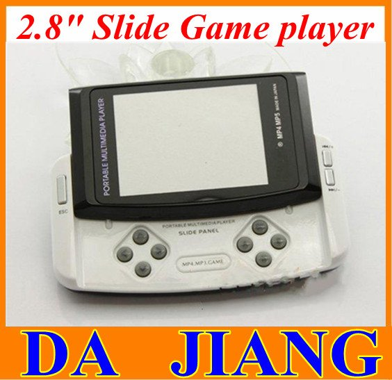 "2.8"" Slide Game player 4GB Built-in Camera Handheld Game Player Free 1000 Games"