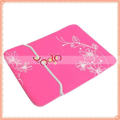 Free Shipping!14.1Inch Notebook Sleeve,Notebook Bags,Laptop Sleeve Fuchsia 10pcs/lot 83004565