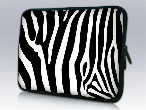 """Free Shipping Stylish Protective Soft Carrying Sleeve Pouch Bag Cover Case with Zipped Close for 10"""" Laptop Tablet"""