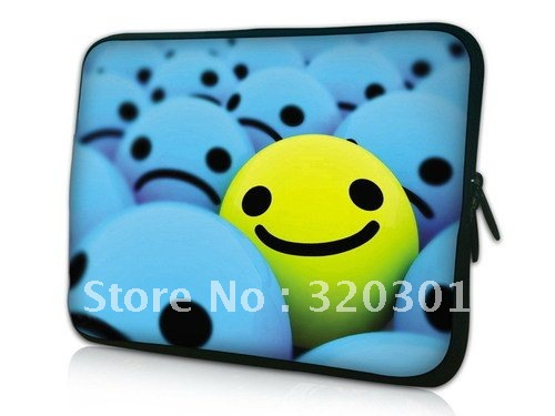"""Smile Face 13 inch Laptop Notebook Bag Colorful Case Cover for 13.3"""" Macbook Pro, Aluminium,Air"""