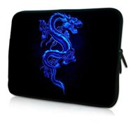 """Blue Dragon 15"""" inch Waterproof Laptop Soft Neoprene Bag Sleeve Case Pouch Holder For 15.5"""" 15.6"""" HP DELL ACER SONY"""
