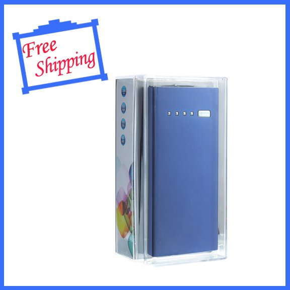 for ipad iphone HTC samsung  GP blue 5200mAh USB Portable External Battery Mobile Power Bank