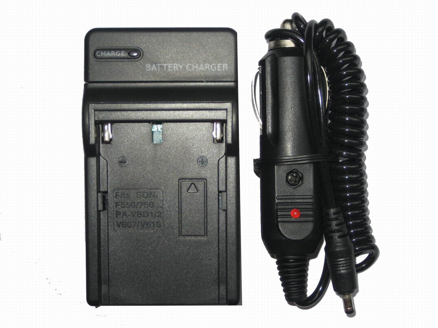 Digital Camera Battery Charger for Sony NP-F550 DCR-TRV203 TRV210 TRV220K TRV310 TRV315