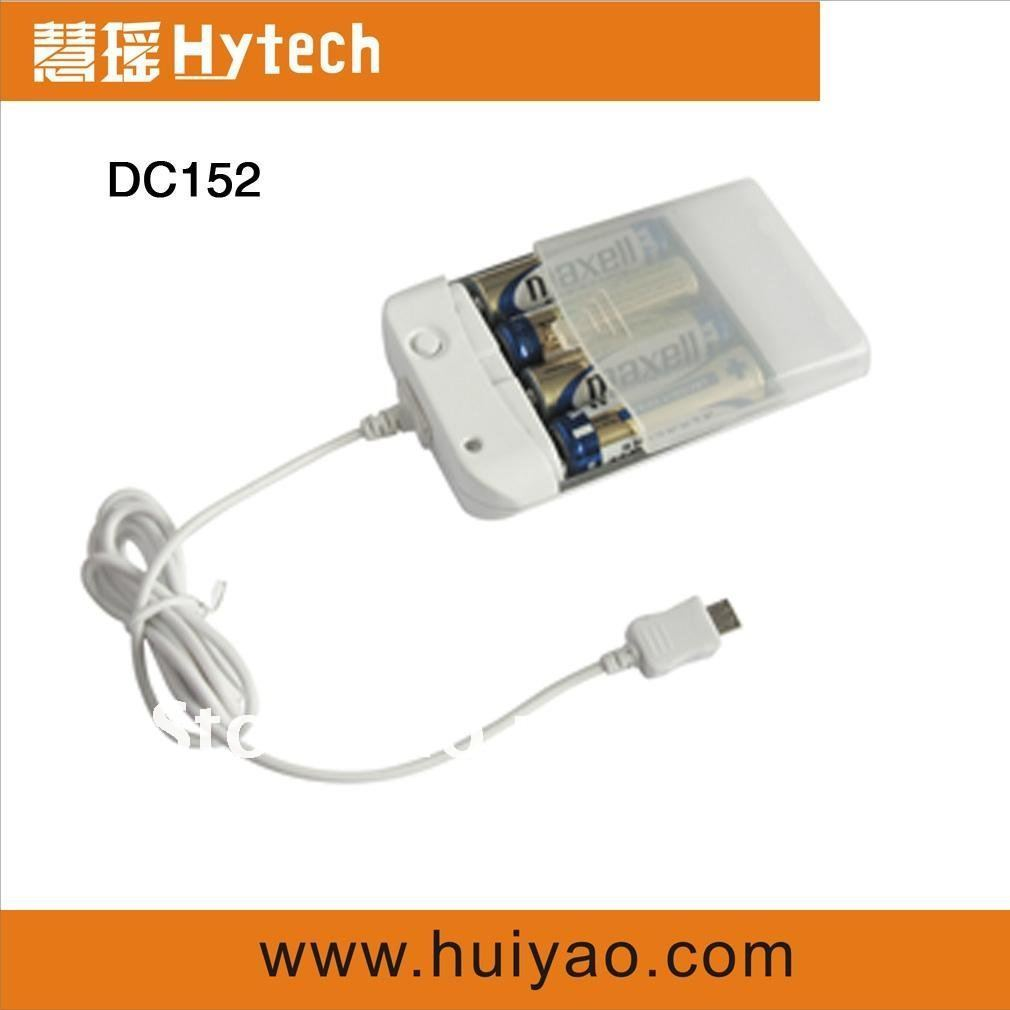 Free shipping DC152 emergency mobile charger  for mobile phones and iphone