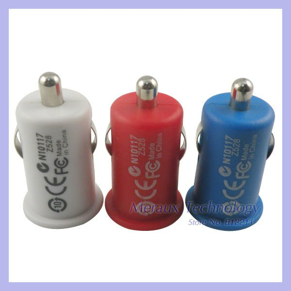 Micro Auto Charger USB Car Charger for iphone 4