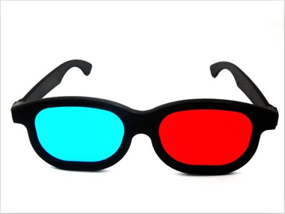 free shipping  1x Red Blue 3d glasses active circular polarized 3d glasses 3D TV Movie  Myopia & General  NVIDIA VISION Glasses