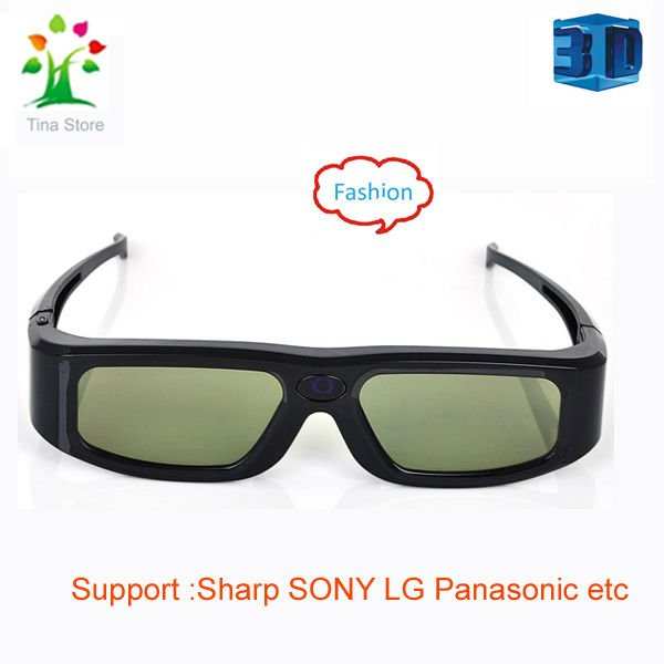 Free shipping 2012 fashion designer 3D glasses shutter for all tv (with Philips,Sony,LG,Sumsung,Panasonic etc)